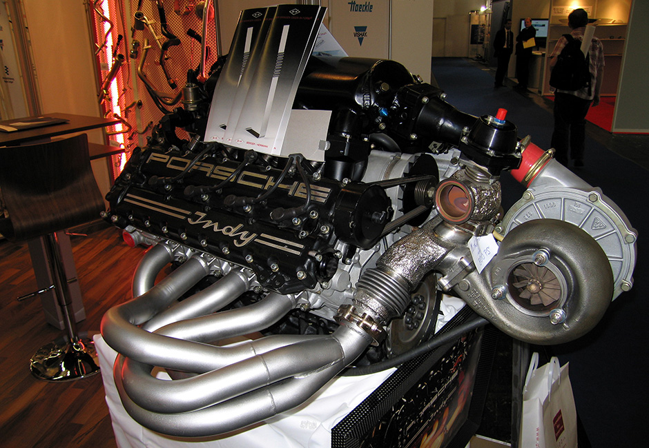 Porsche Indy engine